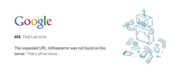 Фото ошибки 404 что означает и что делать