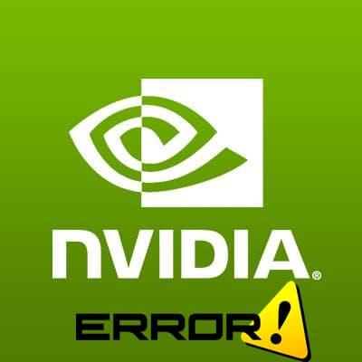 фото Nvidia если драйвера не устанавливаются